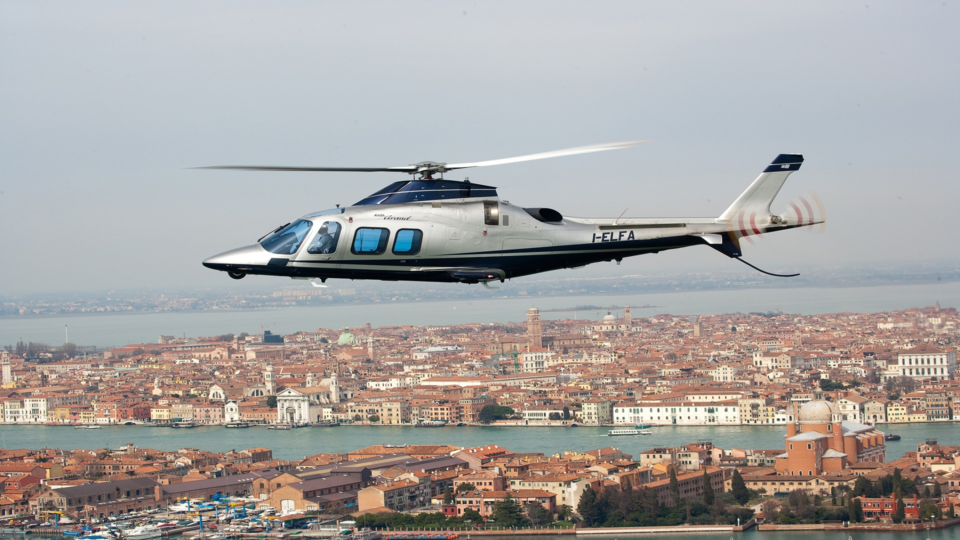 Private Helicopter Charter From Milan To Venice