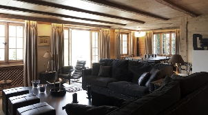 Five Star Chalet Rental In Gstaad