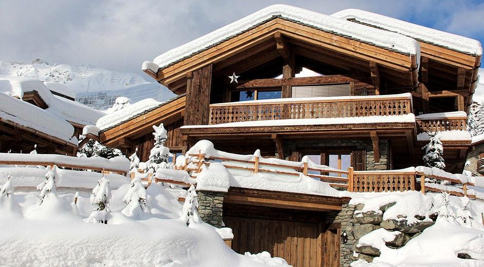 Modern chalet rental near the slopes in verbier ski resort - Chalet moderne ...