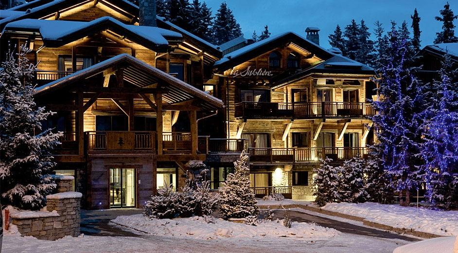 Exklusive ferienwohnung courchevel mieten apartment for Skiurlaub designhotel