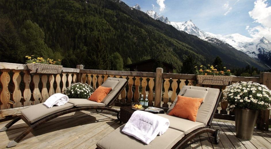 Magnifique chalet louer chamonix avec vues sur le mont for Chalet a louer avec piscine intrieure