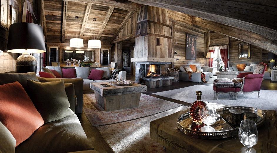 courchevel 1850 chalet ormello - ultra luxus chalet in den alpen, Wohnzimmer dekoo