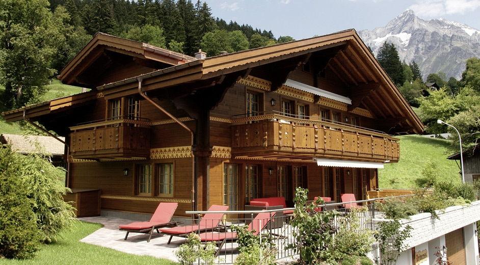 exklusives ferienhaus in grindelwald mieten chalet katherina