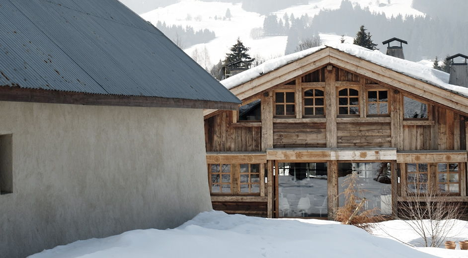 Luxury modern ski accommodation near the slopes in the meg ve resort - Chalet moderne ...