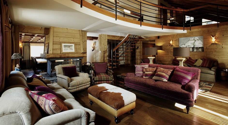 modern chalet rental with catering staff near the slopes in m 233 ribel