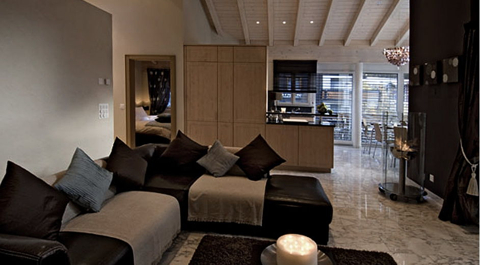 Magnifique appartement de ski louer dans la belle r gion for Appartement design ski