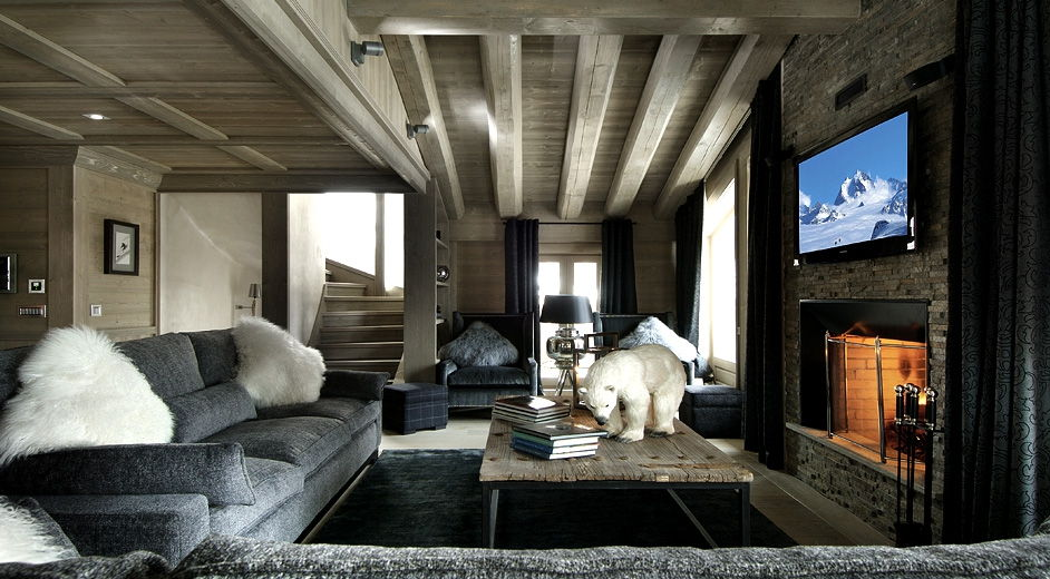 designer ski accommodation in val d isere with staff