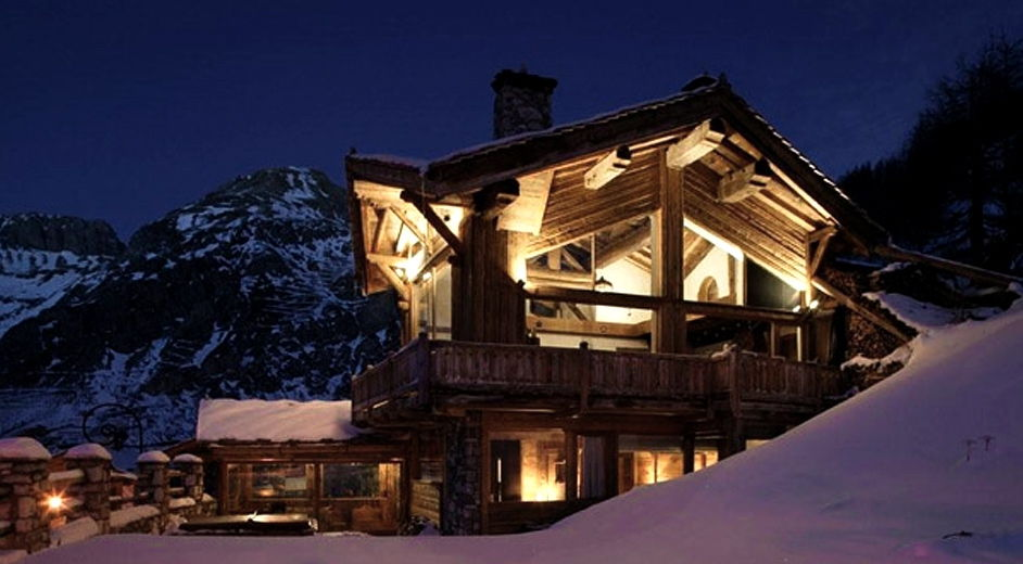 exklusive unterkunft in val d 39 isere chalet kilimanjaro. Black Bedroom Furniture Sets. Home Design Ideas