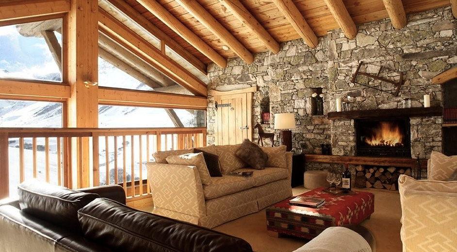 exklusives ferienhaus in val d 39 isere zur miete chalet le. Black Bedroom Furniture Sets. Home Design Ideas