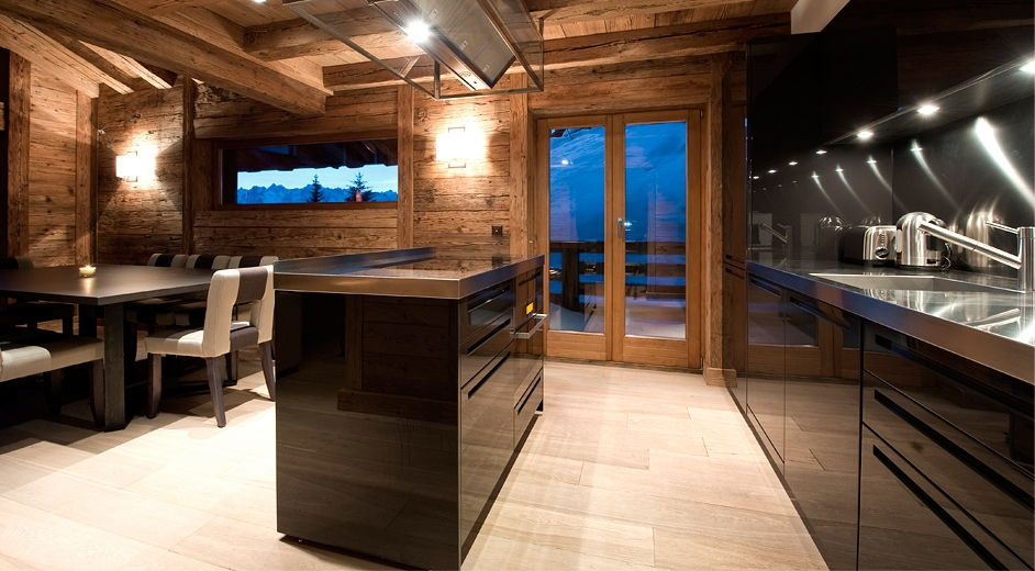 luxury skiing chalet with ski in ski out access in verbier