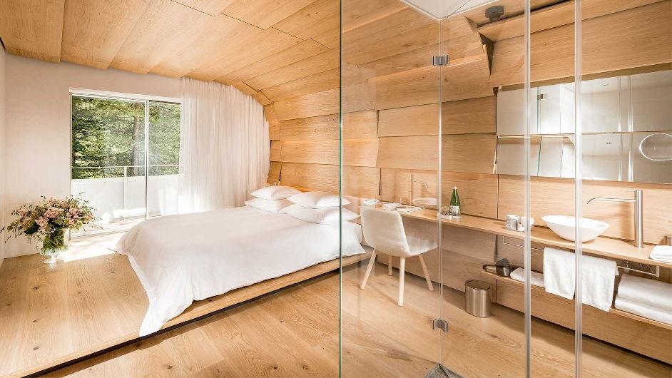 Luxury Spa Hotel In Vals With Michelin Restaurant 7132 Hotel