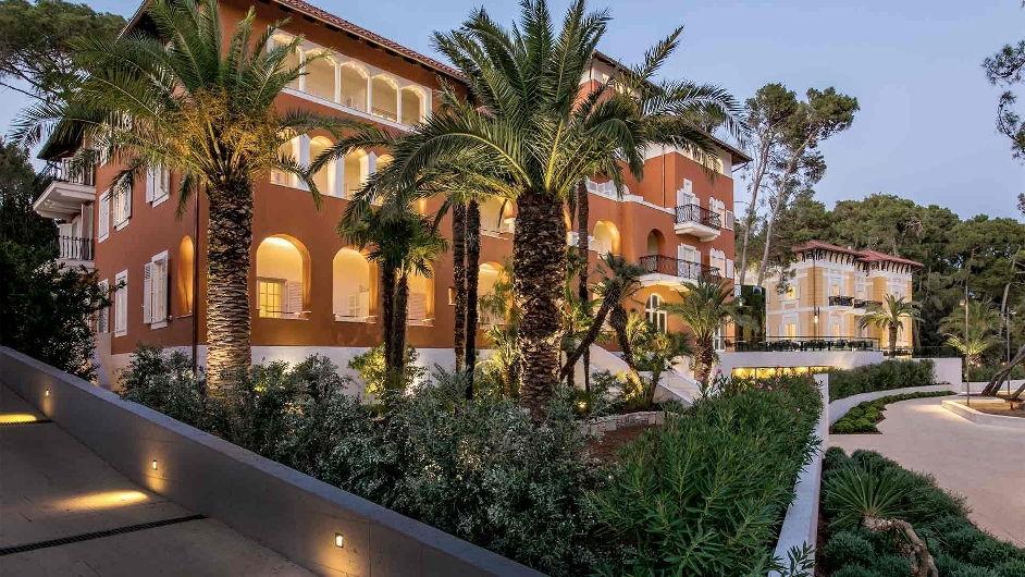 Boutique hotel alhambra luxe et spa l 39 ouest de la croatie for Boutique hotel intermezzo 4 pag croatie