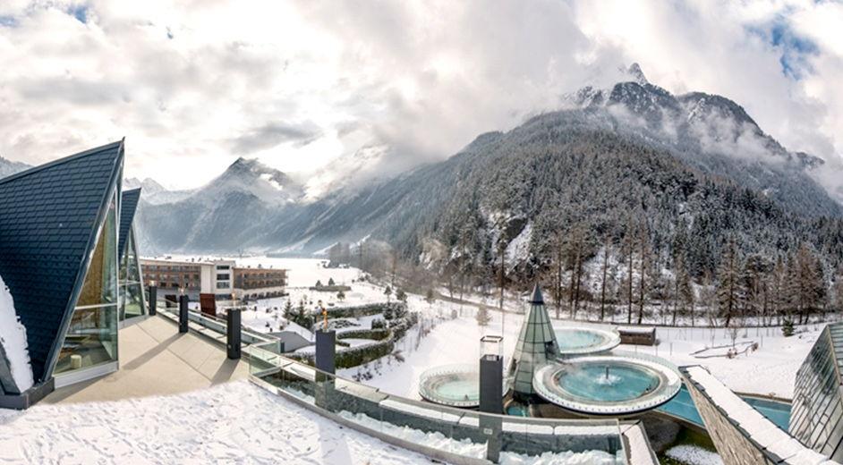 Luxury hotel in Austria with thermal spa near Sölden