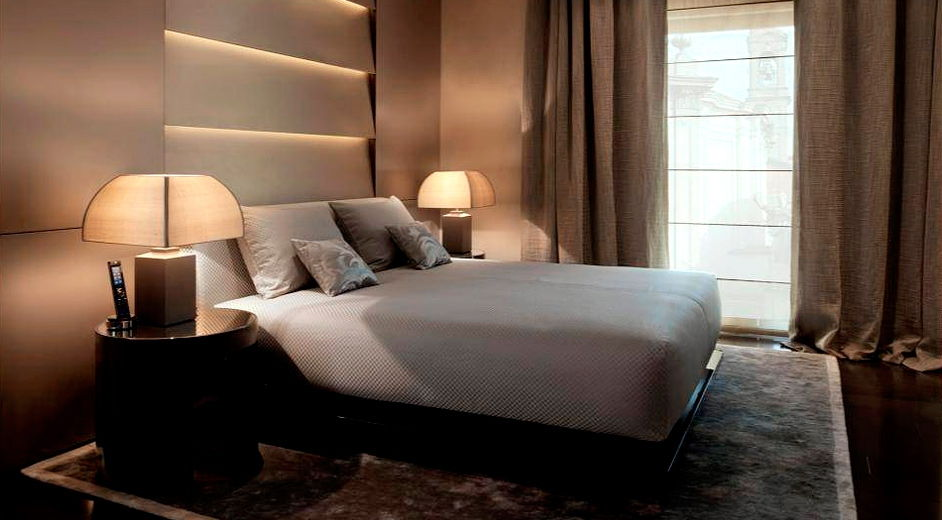 5 luxury hotel in milan fashion district armani hotel for Designer hotels italien