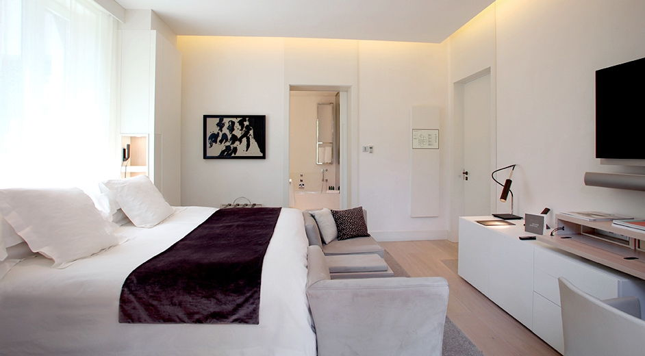 Luxuri ses gourmet hotel in barcelona boutique hotel abac for Top design hotels barcelona