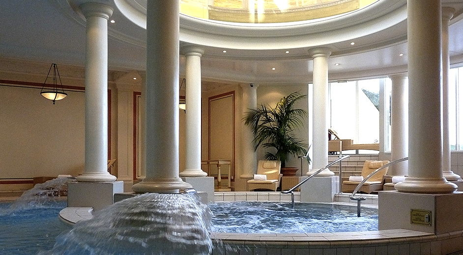 5 star spa hotel in biarritz with gourmet dining h tel for Hotel france spa