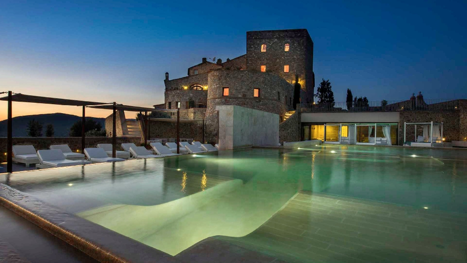 Romantic Wine Country Hotel In Tuscany With Spa Castello Di Velona
