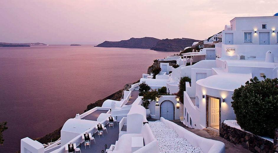 Star Hotels Santorini Island Greece