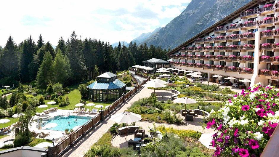 Fantastic 5 Star Hotel Near Seefeld Tyrol Hotel Interalpen