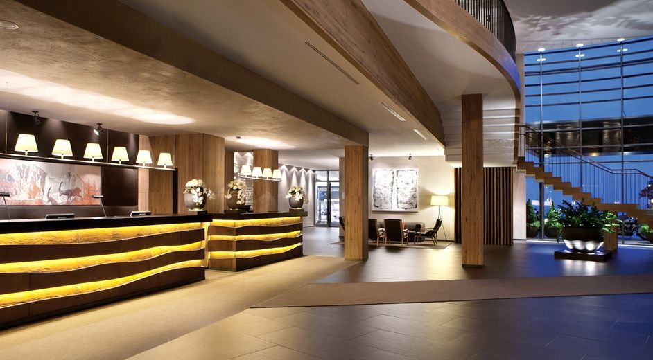 H tel spa alpin de luxe en autriche avec installations for Design hotel utah