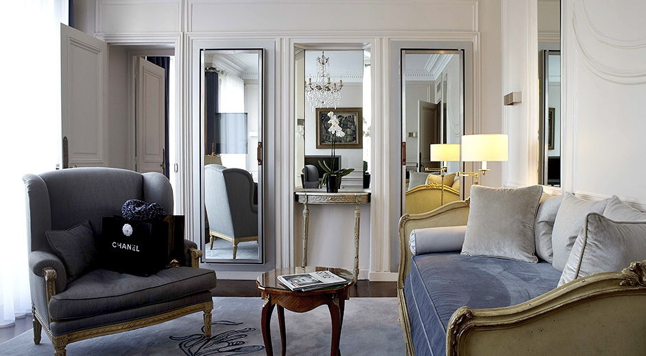 H tel lancaster luxury hotel in paris with 1 michelin star for Hotel design france