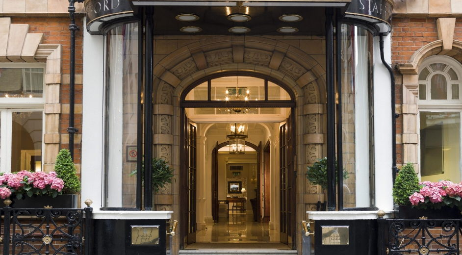 Exclusive luxury boutique hotel in central london near st for Top luxury boutique hotels