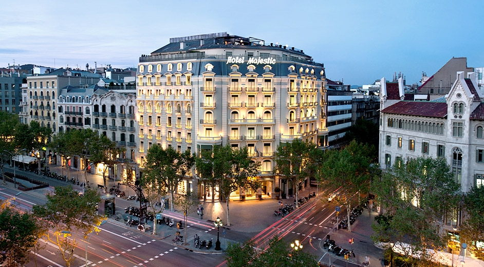 Luxury spa hotel in barcelona city centre majestic hotel Hotel original barcelone