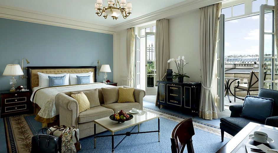 Luxury 5 Star Hotels With Spa In The Centre Of Paris The