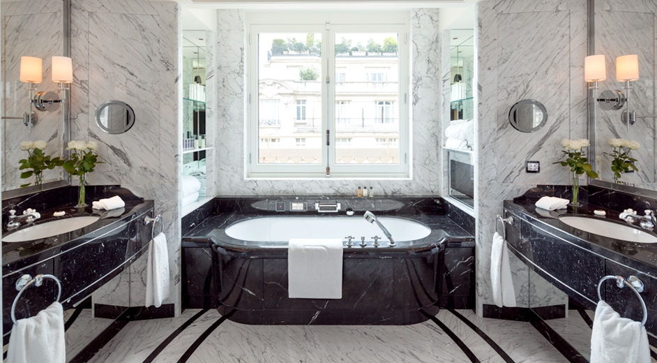 5 star spa hotel in paris near arc de triomphe the. Black Bedroom Furniture Sets. Home Design Ideas