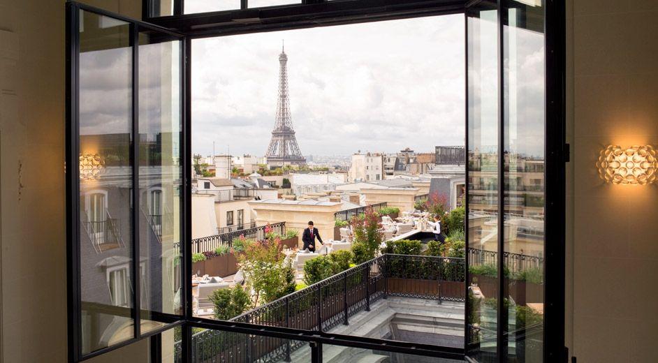 H tel de luxe au centre de paris avec piscine et spa the - Hotel avec piscine pres de paris ...