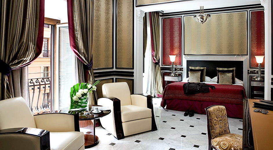 Exclusive five star hotel with gourmet dining on via for Hotel luxury roma