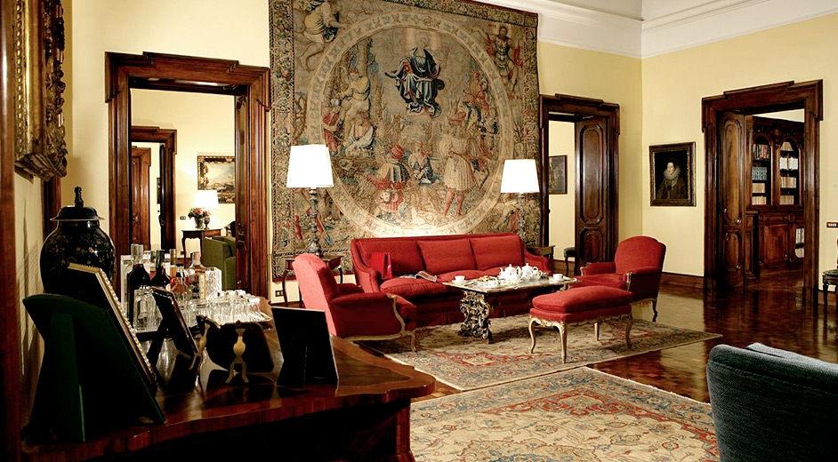 Romantisches boutique hotel roms villa spalletti trivelli for The luxus boutique hotel