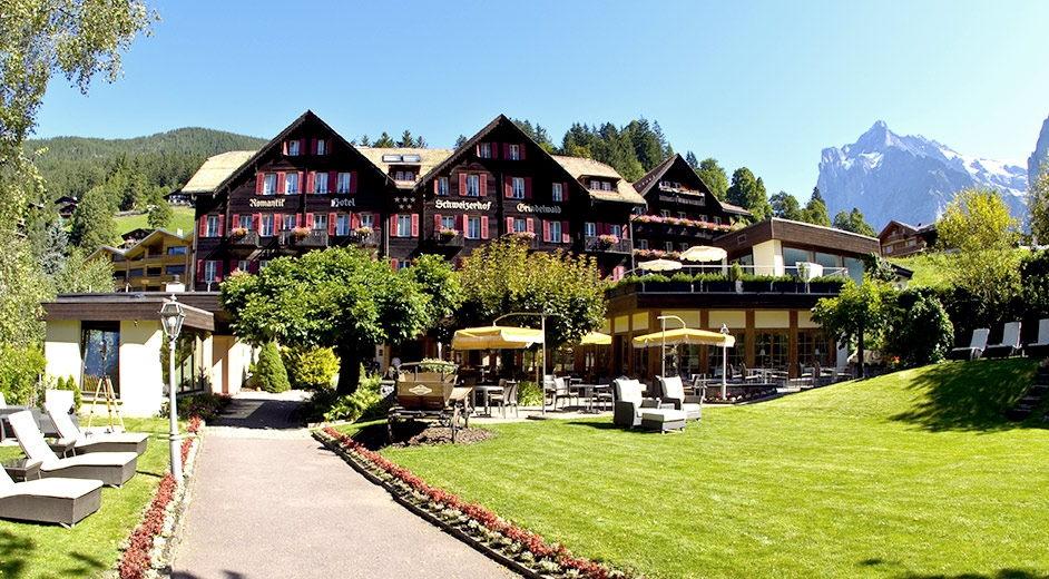 swiss alps 4 star alpine spa resort
