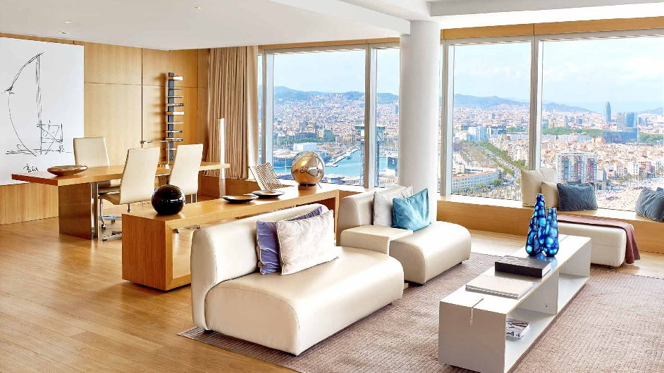 5 sterne lifestyle design hotel in barcelona hotel w for Design hotel w barcelona