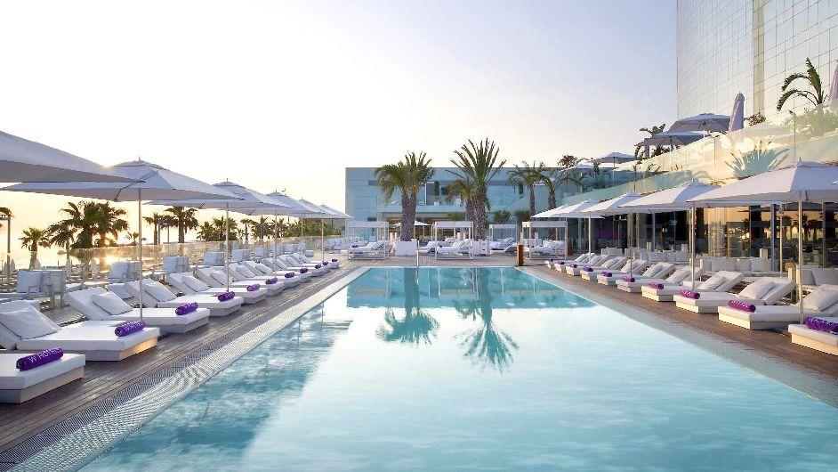 5 sterne lifestyle design hotel in barcelona hotel w for Design hotels spanien
