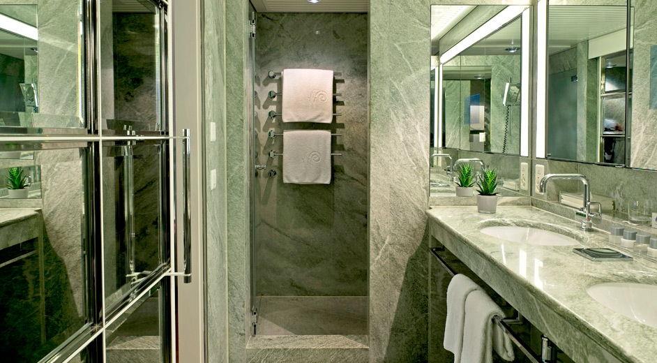 Luxury boutique hotel in zurich with gourmet cuisine for 5 star hotel bathroom designs
