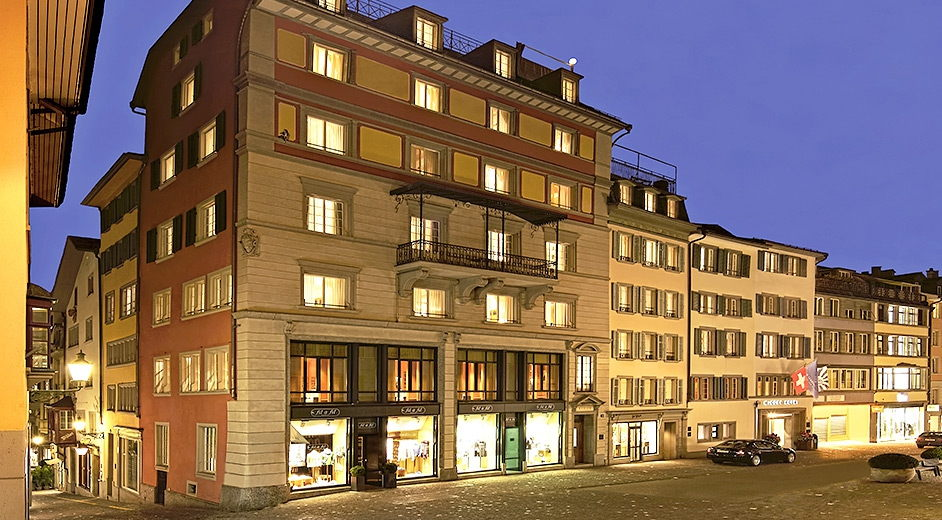 Luxury boutique hotel in zurich with gourmet cuisine for Nearest 5 star hotel