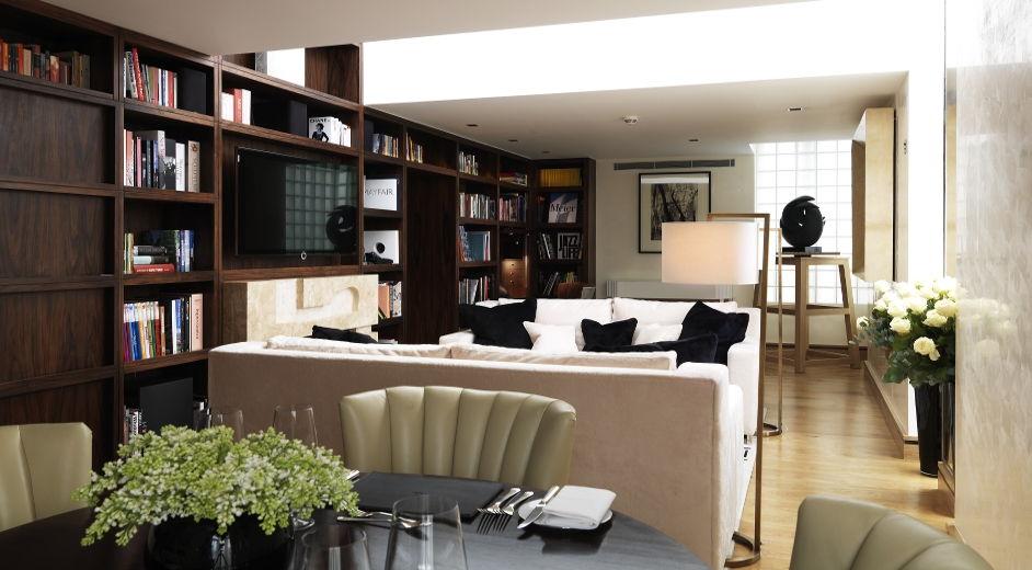 h tels cinq toiles londres grandeur historique au coeur du mayfair. Black Bedroom Furniture Sets. Home Design Ideas