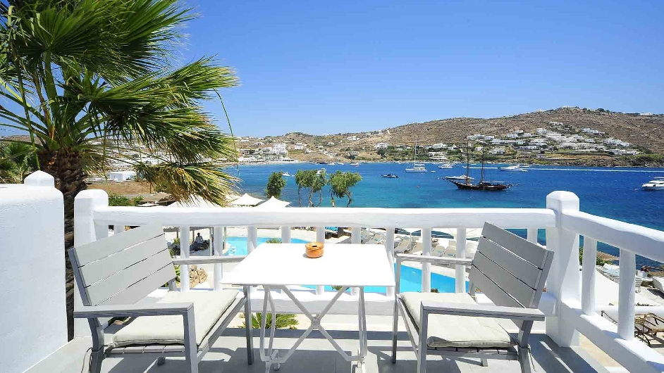 Best Island Beaches For Partying Mykonos St Barts: 5 Star Unique Boutique Hotel In Ornos Bay