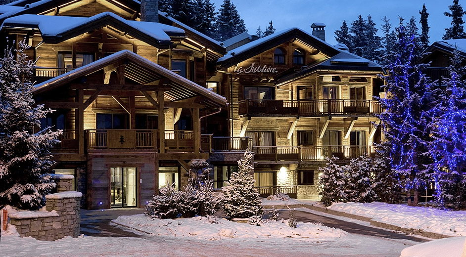 Luxury Spa Hotels Near The Slopes In Courchevel In The French Alps