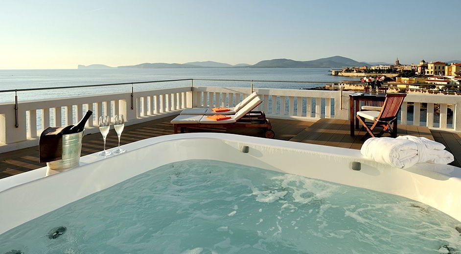 Luxury seafront spa hotel in sardinia villa las tronas quotes for Hotel luxury quotes