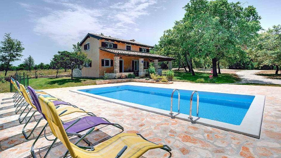 Luxusurlaub In Der Villa Milla Bei Rovinj Kroatien