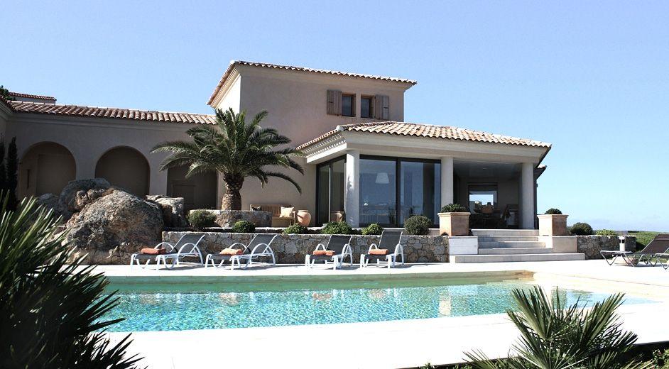 Luxus villa mit meerblick auf korsika mieten privat for Haus mieten privat
