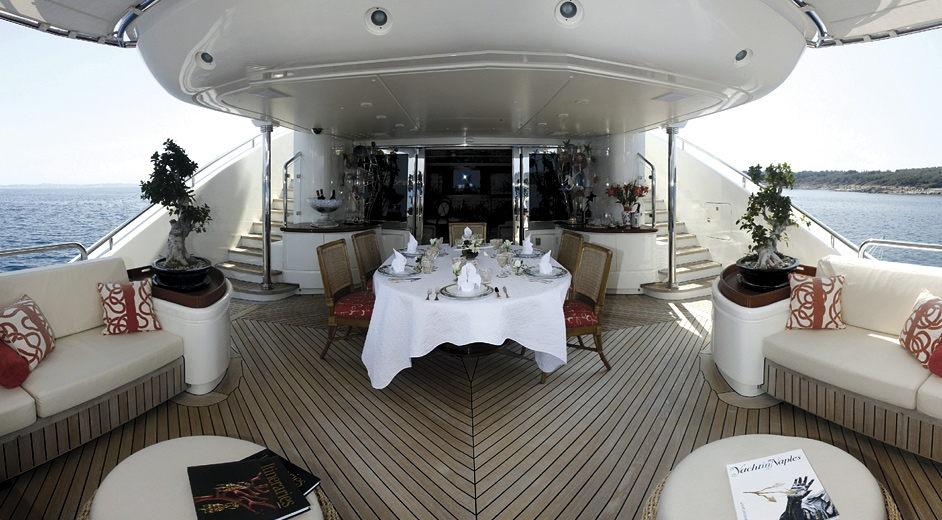 Top motor yacht charter in the Mediterranean – Olah