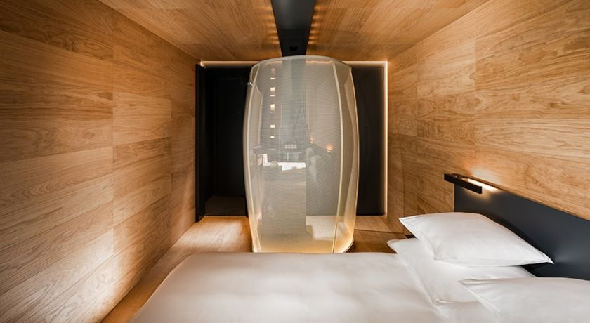 Luxury spa hotel in vals with michelin restaurant 7132 hotel for Design hotel vals