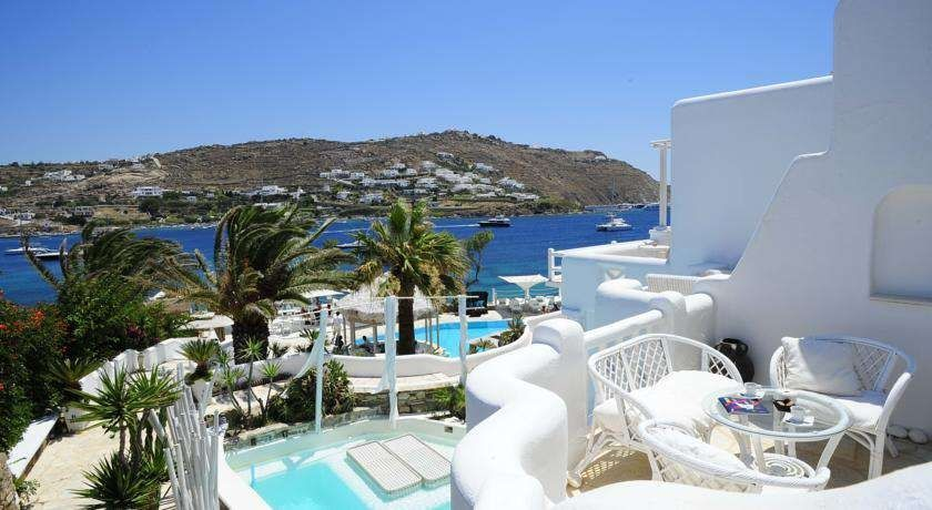 Außergewöhnliches Boutique-Hotel am Strand – Kivotos Mykonos